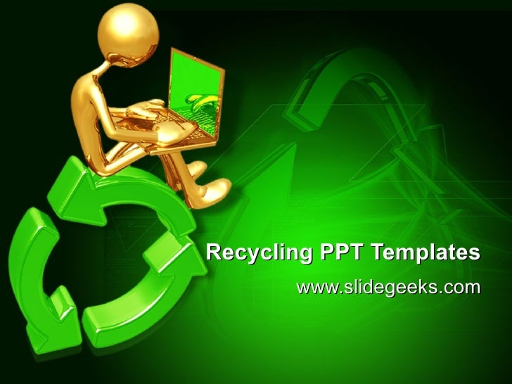 recycling ppt templates