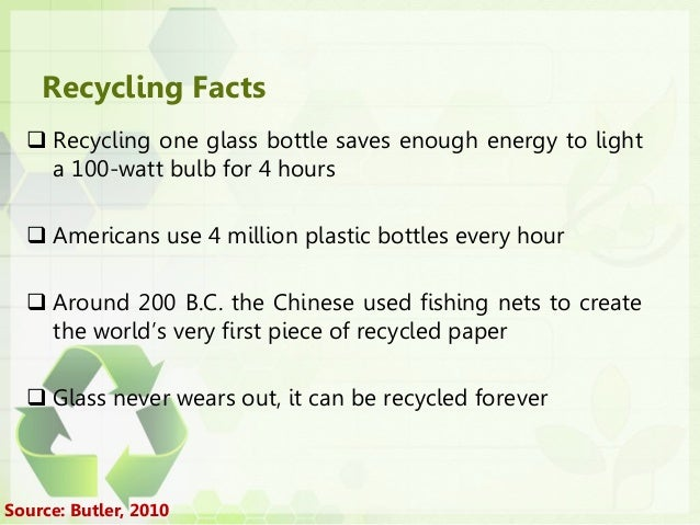 waste and energy paper and presentation Recycling fun facts recycling one aluminum can saves enough energy to run a the construction costs of a paper mill designed to use waste paper is 50 to 80.
