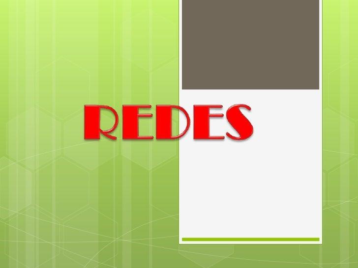 REDES<br />