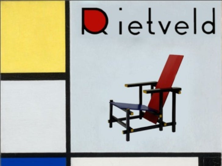 Rietveld's Red/Blue Chair