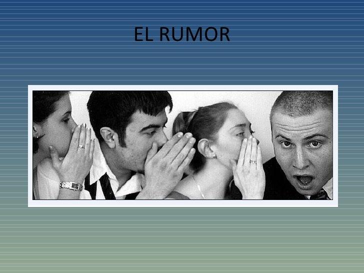 El rumor en la empresa