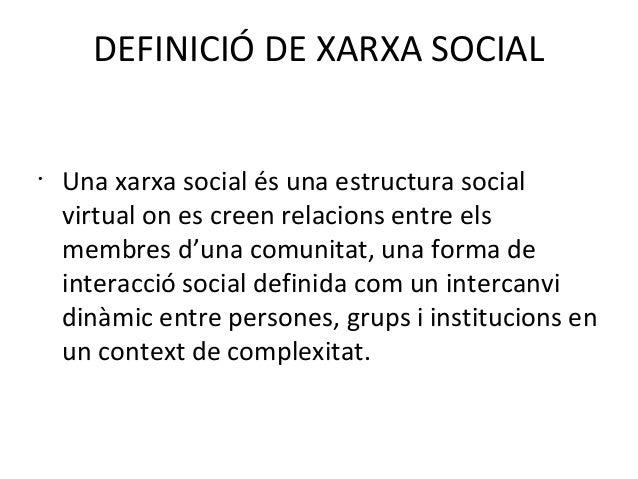 Presentació sobre les xarxes socials