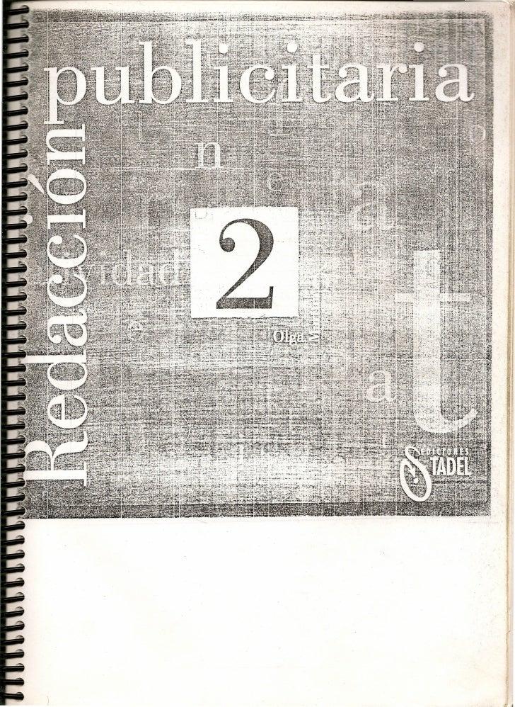 libro Redaccion publicitaria 2