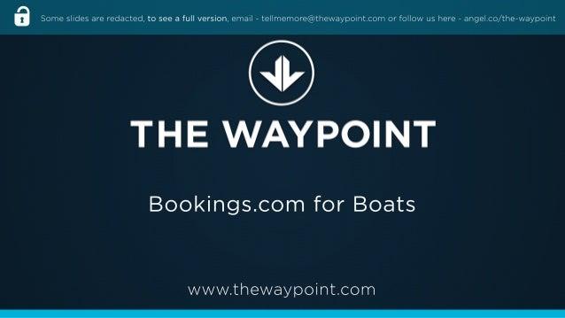 The Waypoint's Deck