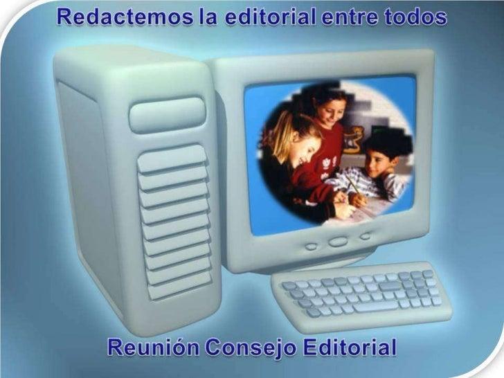  Somos 10 escuelas que hemos participado a lo largo de este año, en la elaboración de los artículos de la Revista Electró...