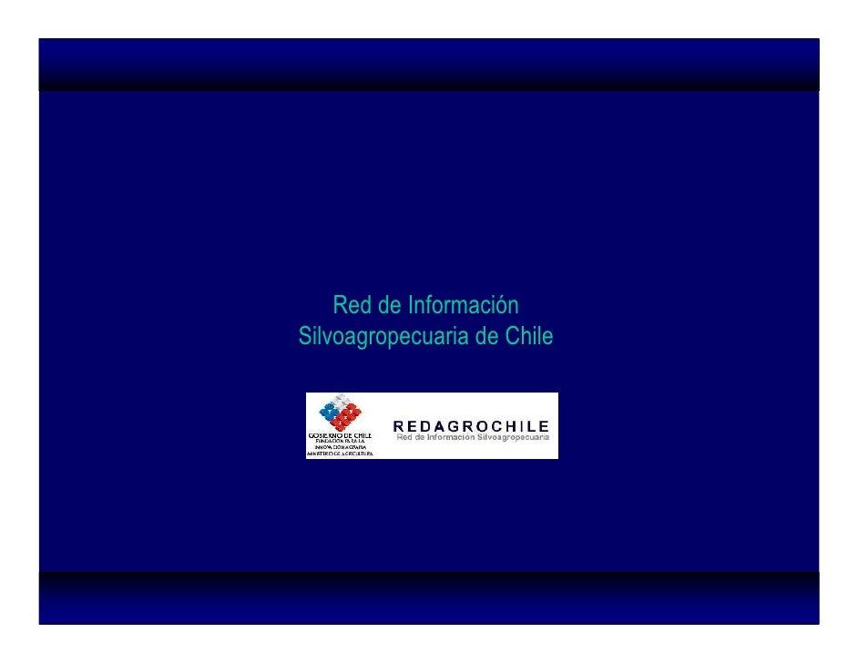 Red de Informacion Silvoagropecuaria de Chile