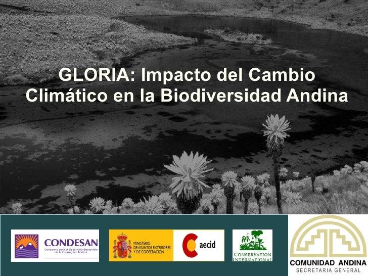 GLORIA: Impacto del Cambio Climático en la Biodiversidad Andina