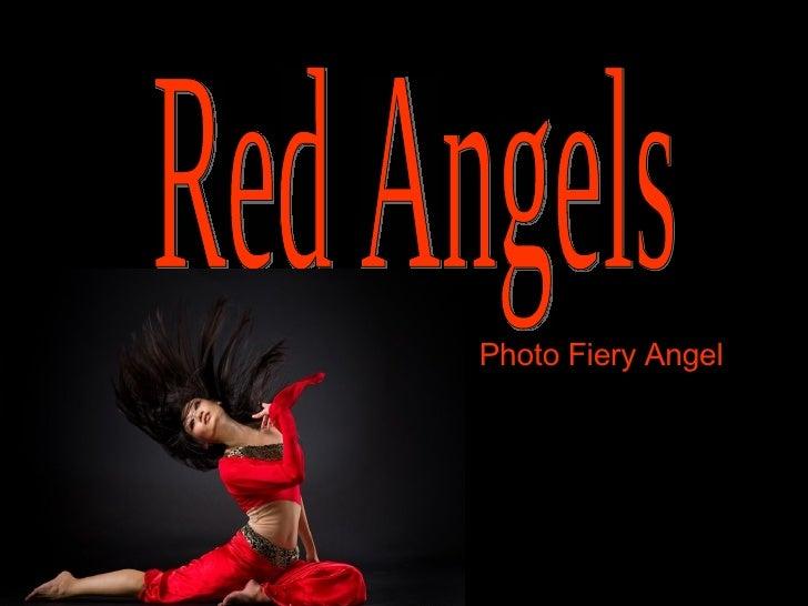Red Angels Photo Fiery Angel