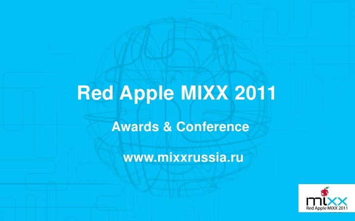 Red apple mixx rules