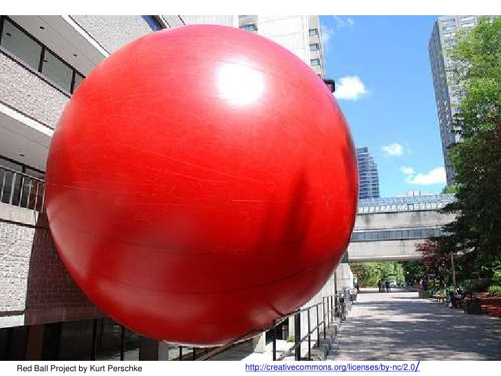 http://creativecommons.org/licenses/by-nc/2.0/<br />Red Ball Project by Kurt Perschke<br />