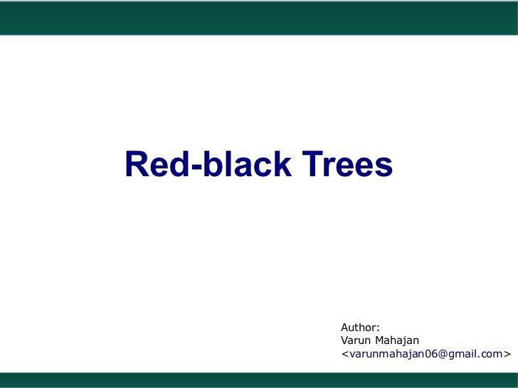 Red Black Trees