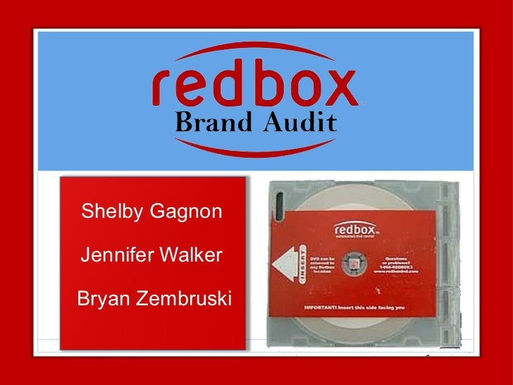 Red Box Brand Audit