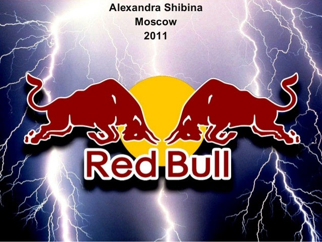Red bull product analysis
