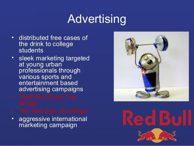 red bull marketing analysis Red bull has been winning f1 trophies 8 reasons why red bull is freaking awesome visakan 32 examples of marketing using events 7: red bull supports spinal.