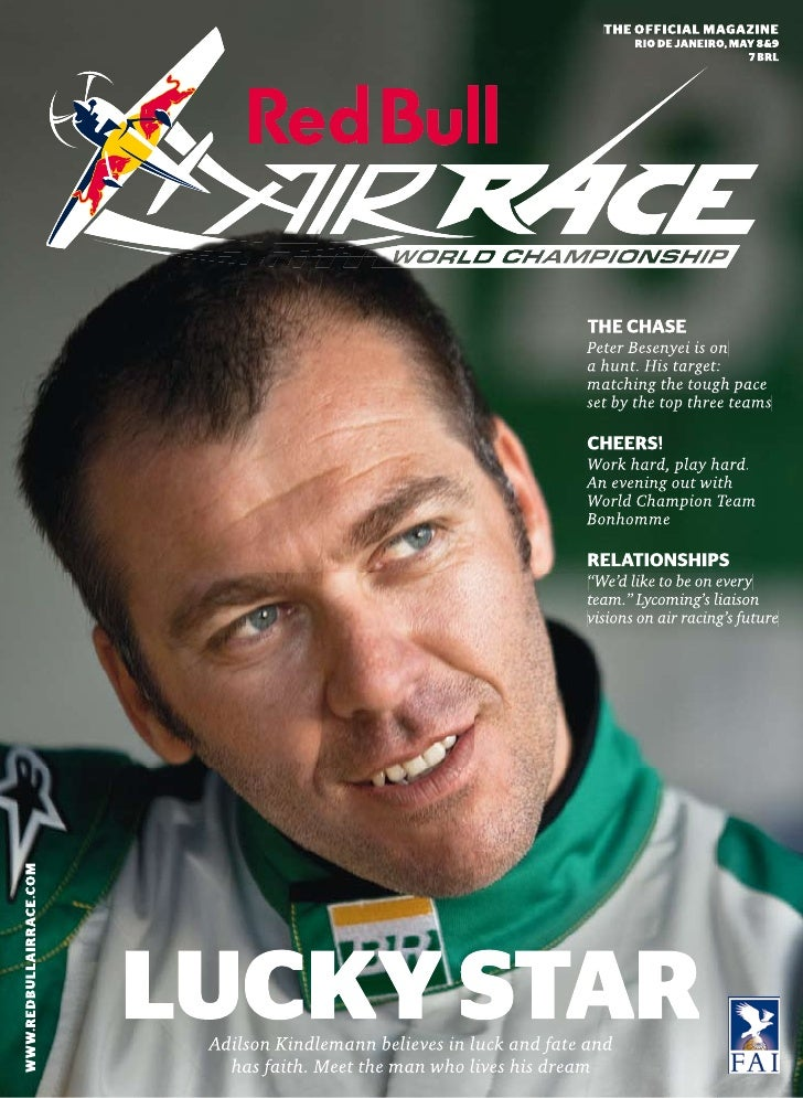 Red bull air race magazine   rio 2010
