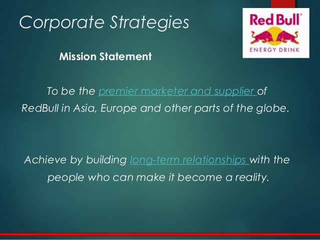 red bull mission and vision Vision (planning) red bull what is red bull's vision update cancel answer wiki 1 answer sarthak dube did red bull pay for its integration into family guy.