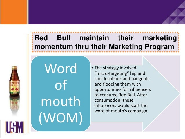 red bull research marketing strategy Red bull's content marketing strategy  i just opened wwwredbullcom to do some research,  that's content marketing red bull's web site is a prime.