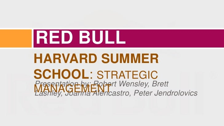 Red Bull Blue Ocean Strategy