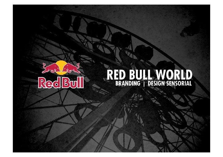 Red Bull World - Design Sensorial