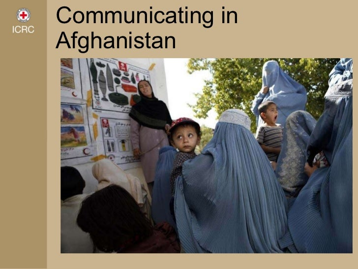 Communicating in Afghanistan
