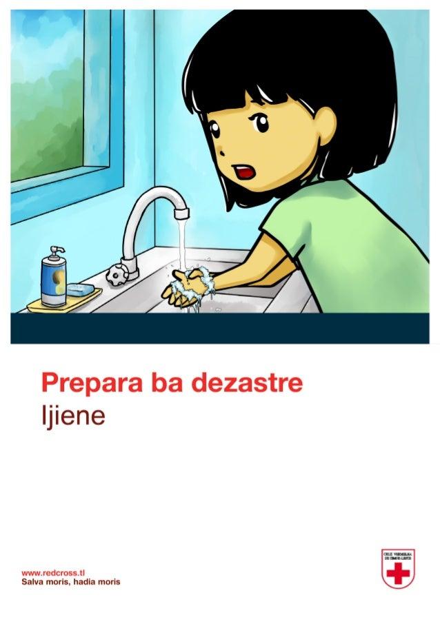 Redcross comic hygiene_timor