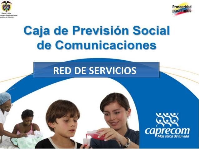 RED DE SERVICIOSRED DE SERVICIOS