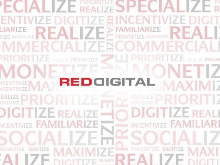 Red Digital credentials presentation (February 2012)