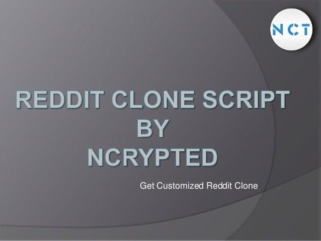 Get Customized Reddit Clone