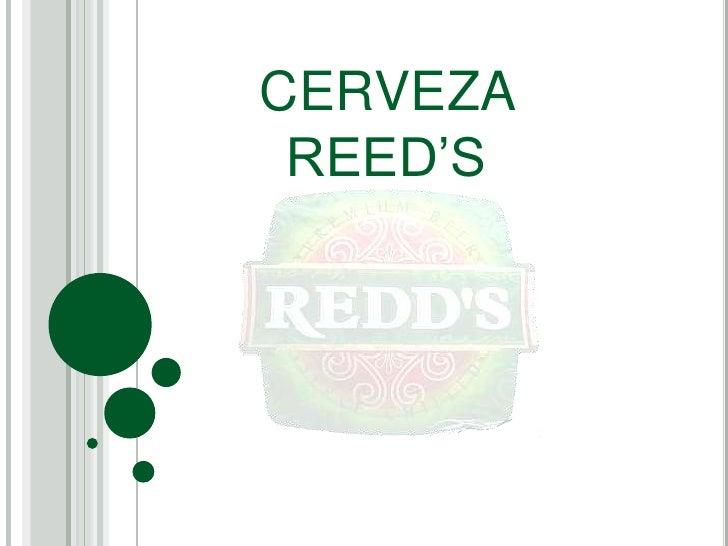 CERVEZA REED'S<br />
