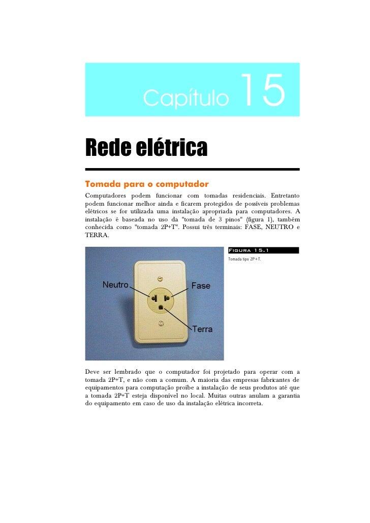 Rede elétrica e o computador