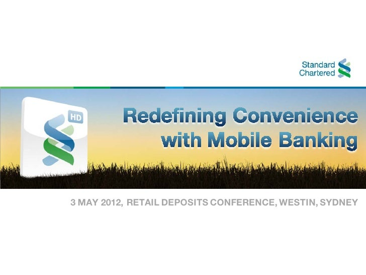 3 MAY 2012, RETAIL DEPOSITS CONFERENCE, WESTIN, SYDNEY