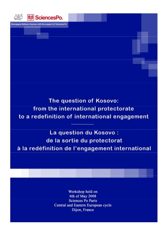 Redefining international engagement in Kosovo 2008