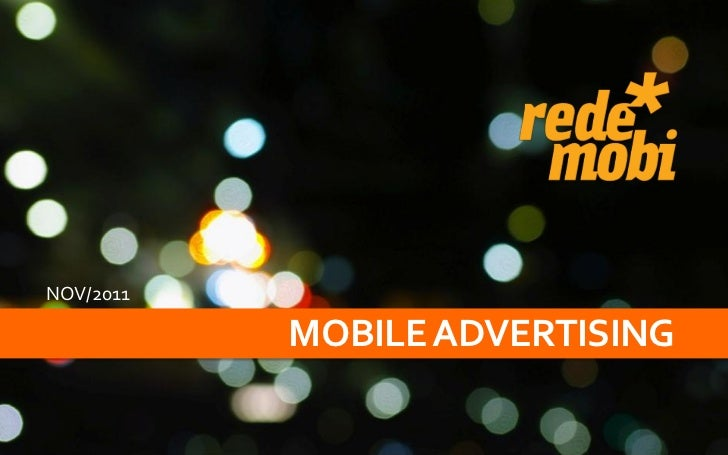 NOV/2011           MOBILE ADVERTISING