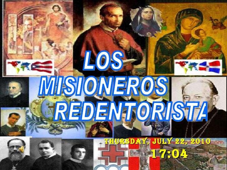 Thursday, July 22, 2010   17:04   LOS  MISIONEROS  REDENTORISTAS