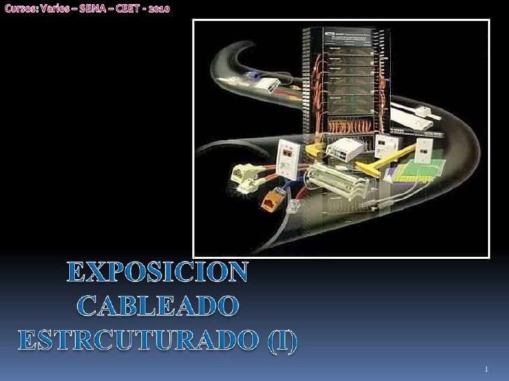 Redes - 01 - Cableado Estructurado (I)
