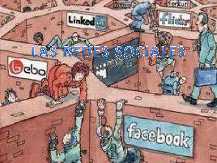 LAS REDES SOCIALES<br />