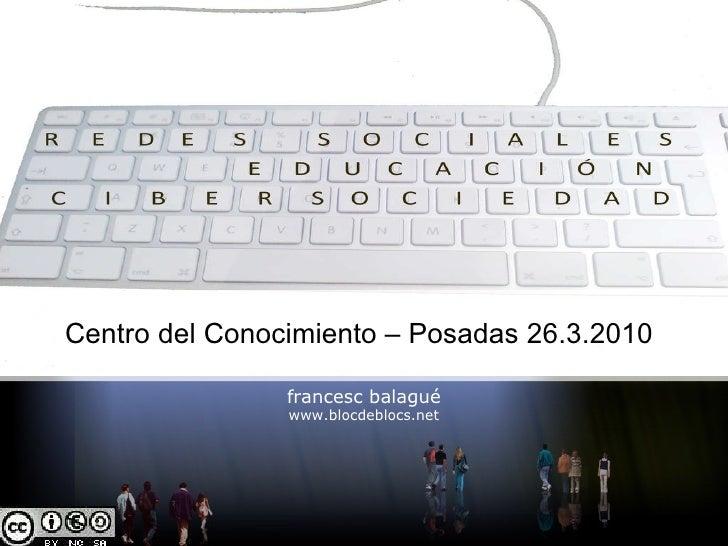 Redes Sociales, Educación y CiberSociedad