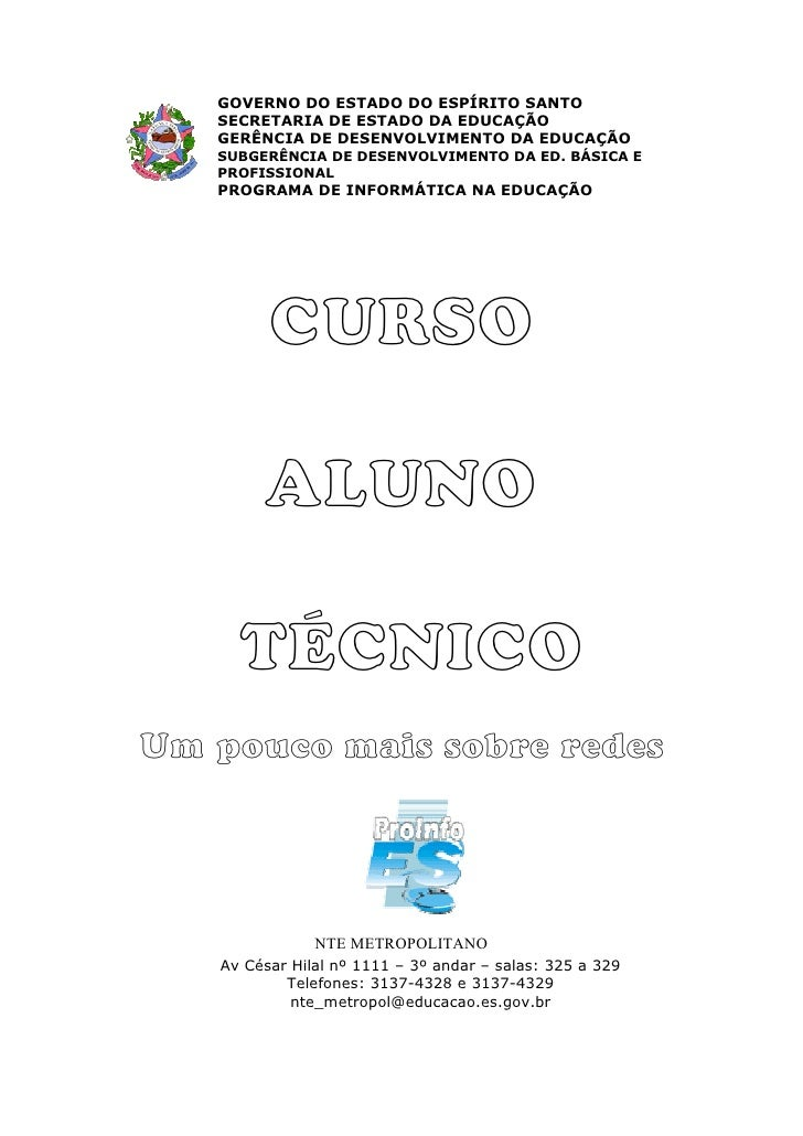 GOVERNO DO ESTADO DO ESPÍRITO SANTO   SECRETARIA DE ESTADO DA EDUCAÇÃO   GERÊNCIA DE DESENVOLVIMENTO DA EDUCAÇÃO   SUBGERÊ...