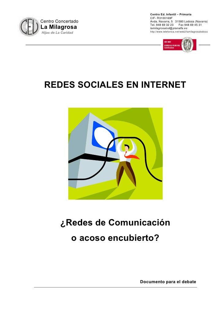 Centro Ed. Infantil – Primaria                                    CIF- R3100169F Centro Concertado                  Avda. ...