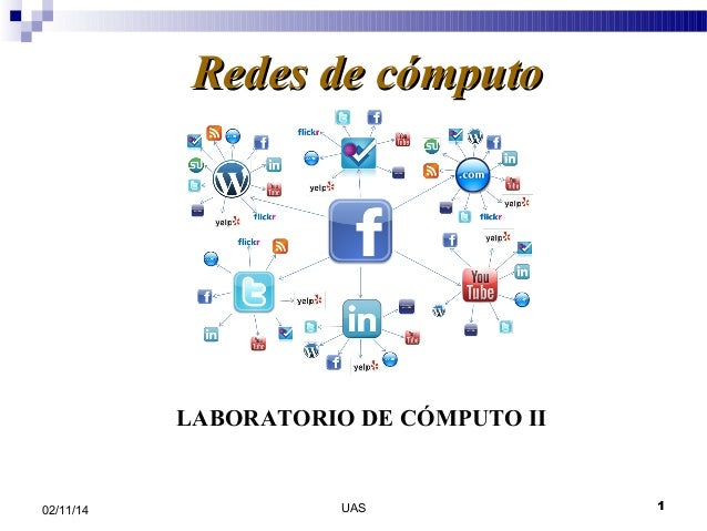 RReeddeess ddee ccóómmppuuttoo  LABORATORIO DE CÓMPUTO II  02/11/14 UAS 1