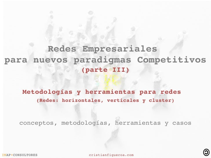 RedesEmpresariales  paranuevosparadigmasCompetitivos                             (parteIII)           Meto...