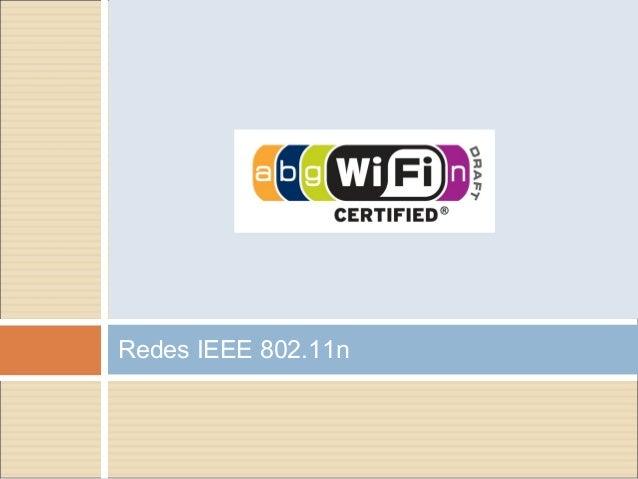Redes IEEE 802.11n