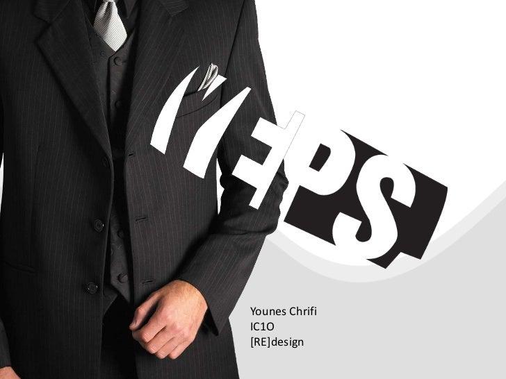 Younes Chrifi<br />IC1O<br />[RE]design<br />