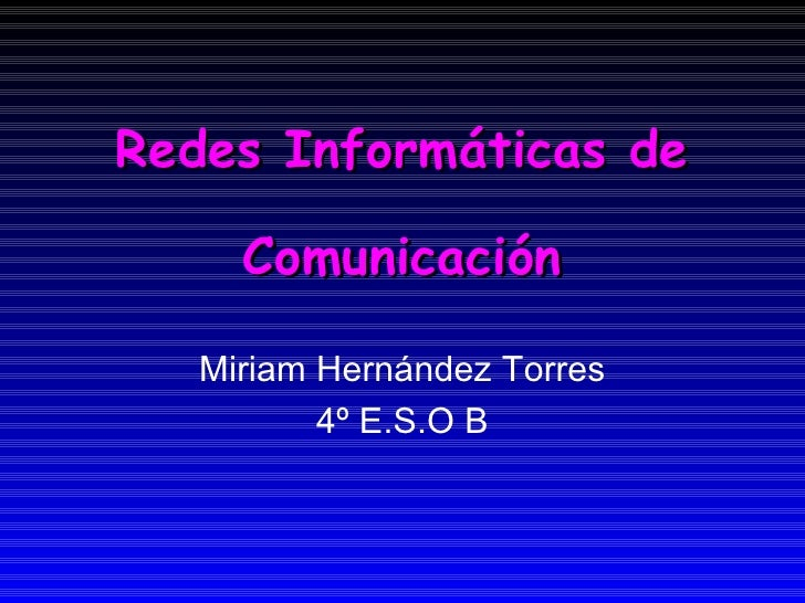 Redes Inf..