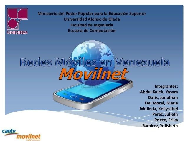 Ministerio del Poder Popular para la Educación Superior Universidad Alonso de Ojeda Facultad de Ingeniería Escuela de Comp...