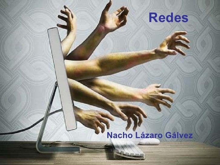 Redes Nacho Lázaro Gálvez