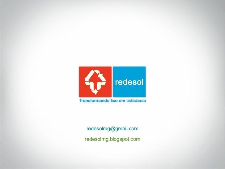 redesolmg@gmail.comredesolmg.blogspot.com