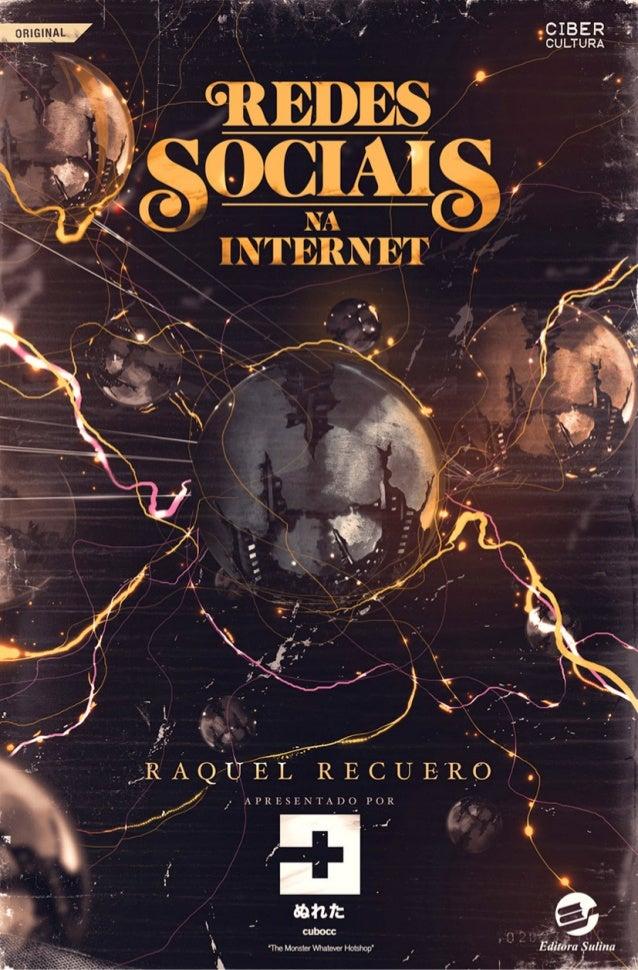 Redes sociais na internet – raquel recuero