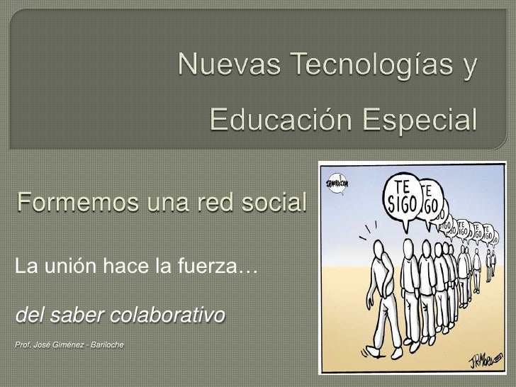 Educación Especial y Redes Sociales