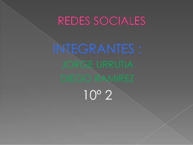 INTEGRANTES : JORGE URRUTIA DIEGO RAMIREZ 10º 2
